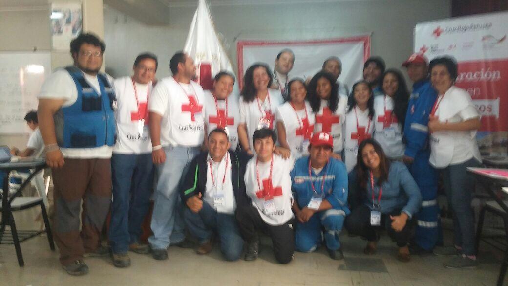 Cruz Roja Peruana, al servicio de la comunidad